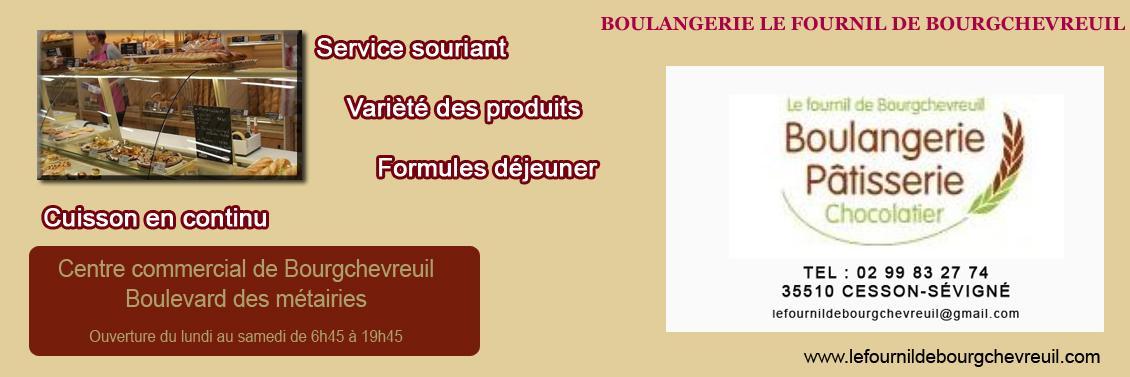 Boulangerie Le Fournil de Bourgchevreuil